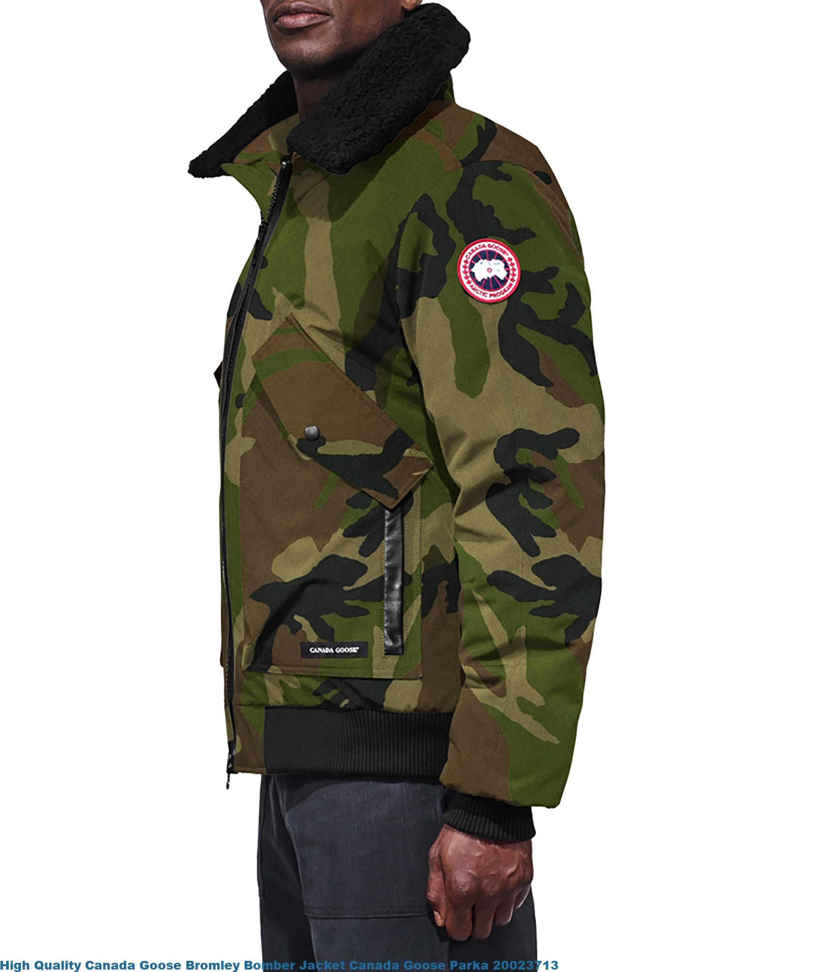 High Quality Canada Goose Bromley Bomber Jacket Canada ...