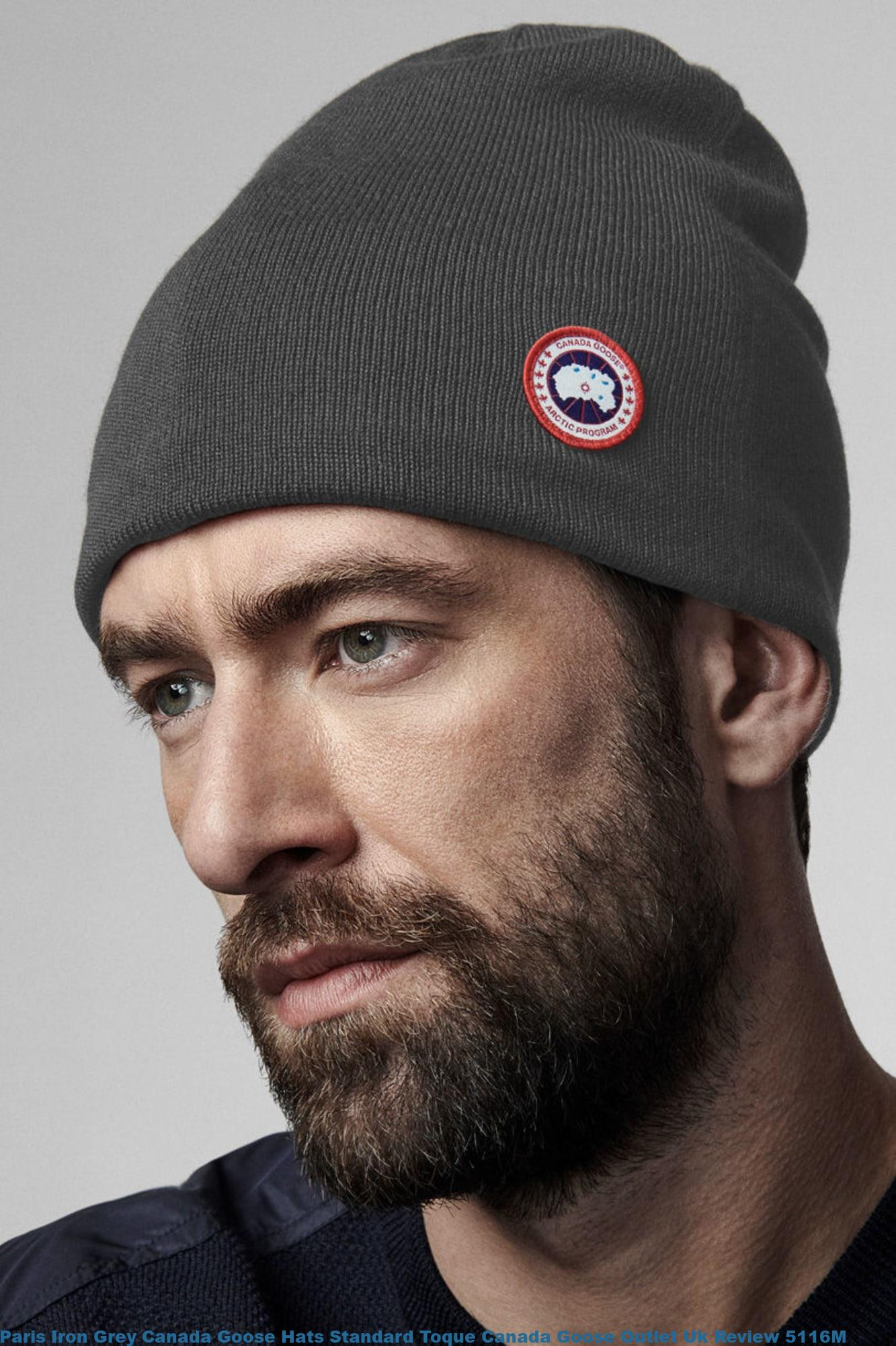 Paris Iron Grey Canada Goose Hats Standard Toque Canada Goose Outlet Uk Review 5116m Cheap Canada Goose Jackets Outlet Sale With 80 Off And Free Shipping